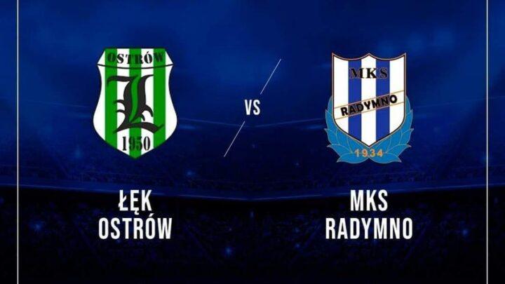 Wynik meczu Łęk Ostrów - Mks Radymno 0:4